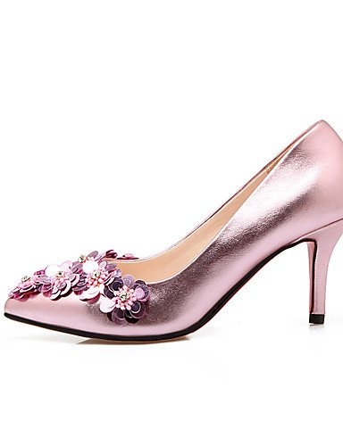 WSS 2016 chaussures à talon aiguille talons / talons bout pointu mariage / fête des femmes&soirée / robe rose / argent / or 3in-3 3/4in-silver