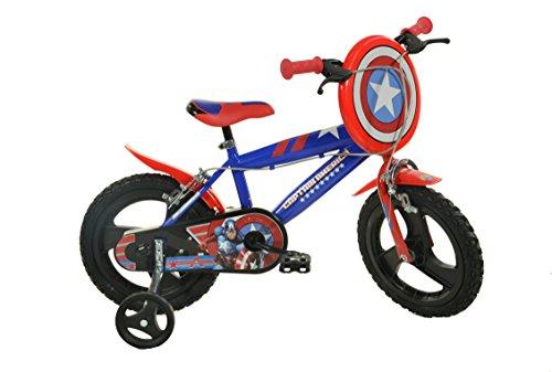 Dino Bikes 414u-ca 35,6cm Captain America Fahrrad - Captain America-fahrrad