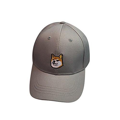 Loveso-Kappen Adult Fashion Stickerei Brief Cotton Baseballmütze Hysteresen-Kappen Hip Hop Hüte Sun Caps (Schwarz(Youth))