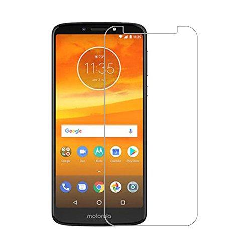 QULLOO Motorola Moto E5 Plus Panzerglas Schutzfolie Displayschutzfolie, 9H Tempered Glass Hartglas HD Displayschutzfolie Panzerglasfolie Handy Schutzglas Glasfolie für Motorola Moto E5 Plus