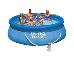 Intex Aufstellpool Easy Set Pools®, TÜV/GS, Blau, Ø 366 x 91 cm