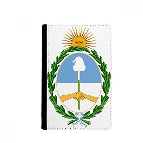 beatChong Buenos Aires Argentinien National Emblem-Pass-Halter Travel Wallet Abdeckungs-Fall Karten-Geldbeutel