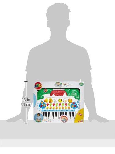 Simba 104018188 - ABC Tier-Keyboard 28x39cm - 4