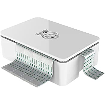 Case for Raspberry Pi 3 (not suitable for Pi 3 Model B+), WHITE