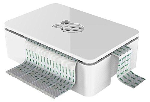 Raspberry  Estuche para Raspberry Pi 3 (no apto para Pi 3 Modelo B+), color blanco width=