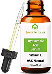 Hyaluronic Acid Serum For Face wit Vitamin E
