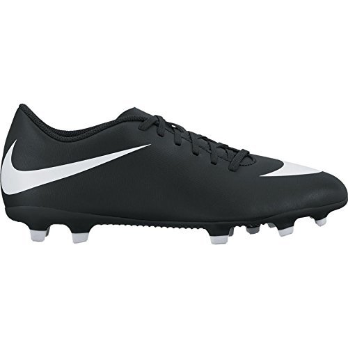 6. Nike Men's Black Bravata II FG Football Shoes