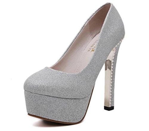 Boda-OL-plataforma-de-bombas-de-5-cm-de-tacn-grueso-14-cm-de-tacn-redonda-dedo-del-pie-usable-casual-zapatos-elegantes-UE-tamao-34-39