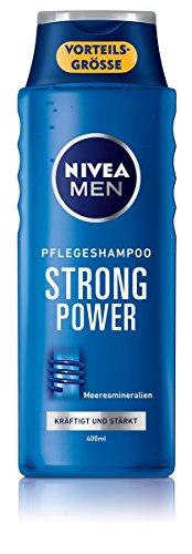 Nivea for men Strong Power Shampoo, 6er Pack (6 x 400 ml)