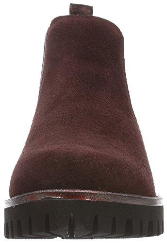 Marco Tozzi Premio Damen 25833 Chelsea Boots Rot (Bordeaux 549)
