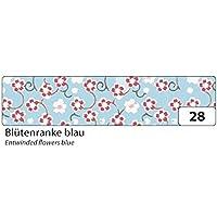 Folia 26028nastro adesivo decorativo Washi Tape, blten Ranke Blu