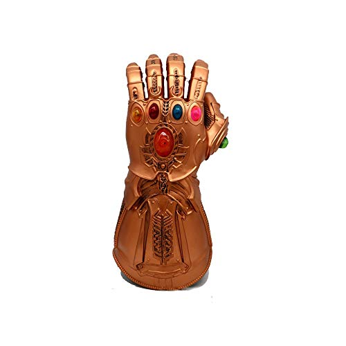 Super Kostüm Damen Bösewicht - Marvel Comics Super Bösewicht Thanos Infinity Gauntlet Ostern Halloween Dekoration Cosplay Handschuhe