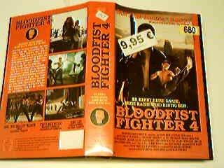 Bloodfist Fighter 4 VHS