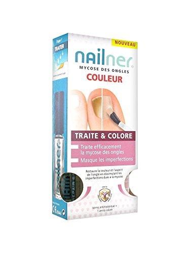 Nailner - Trattamento per micosi alle unghie e 2 smalti colorati