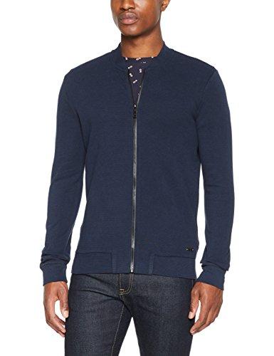 BOSS Casual Herren Sweatshirt Zalter Blau (Dark Blue 404)