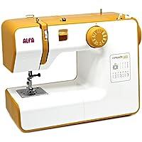 Alfa COMPAKT 100 - Máquina de coser compacta y portátil, color amarillo