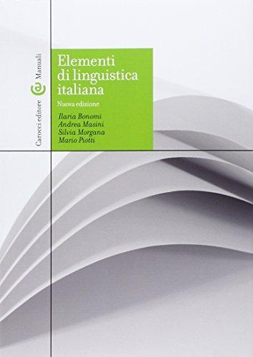 Zoom IMG-2 elementi di linguistica italiana