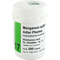 BIOCHEMIE Adler 17 Manganum sulfuricum D 12 Tabl. 200 St Tabletten