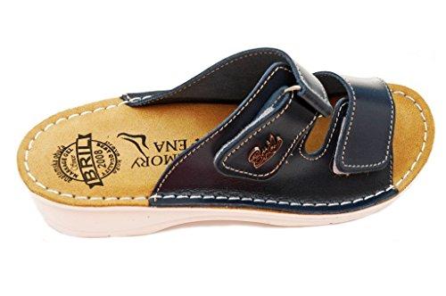 Dr Punto Rosso BRIL D54 Sandali Zoccoli Sabot Pantofole Scarpe Pelle Donna 3d718b48c2e