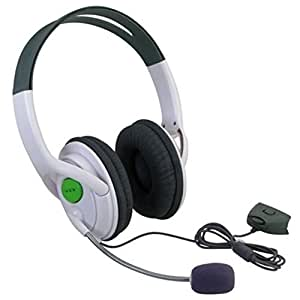 Premium Deluxe Large X-Box XBOX 360 Live Stereo Headphone, Earphone, Headset with Microphone Mic, Foam ear piece for extra comfort