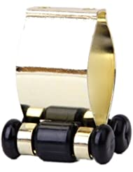 Gazechimp Portable Métal Porte-queue Clip pour Queue Billard - d'Or