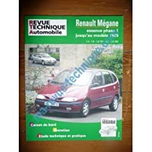 revue technique automobile renault megane livres. Black Bedroom Furniture Sets. Home Design Ideas