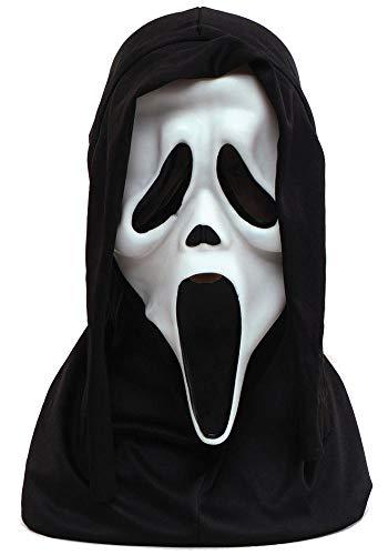 Mr.Giggelz Original Scream Maske mit Kapuze