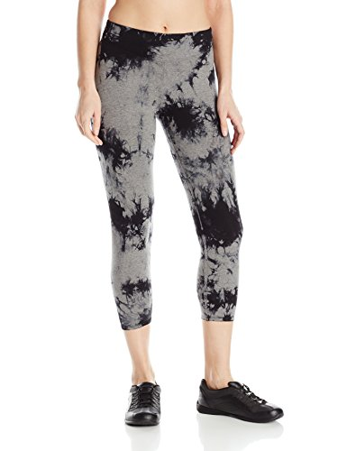 kensie-performance-womens-tie-dye-crop-legging-heather-grey-black-small