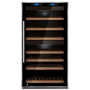 CASO WineComfort Touch 66 Design Weinkühlschrank für bis zu 66 ...