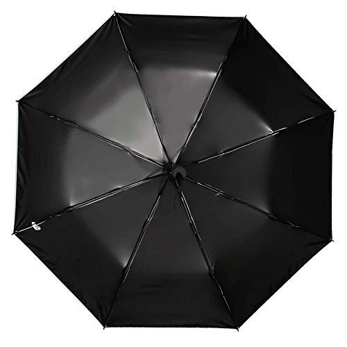 tragbarer, faltbarer Teleskop-Regenschirm mit UV-Schutz-Beschichtung, modischer Sonnenschirm, starker Winddicht, Regenschirm für den Garten, Tisch und Stuhl mit Regenschirm