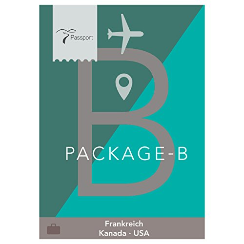 Passport Virtual Active - USB Stick, Pack B (Frankreich, Kanada, USA) Horizon Passport