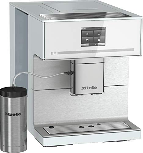 Miele 10947380 CM 7350 Kaffeevollautomat, Kaffeemaschine für Bohnen, Pulver & Tee, Kaffeeautomat...