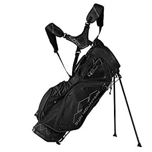 Sun Mountain Golf 2018 4.5 14-Way Stand Golf Bag BLACK (Black)