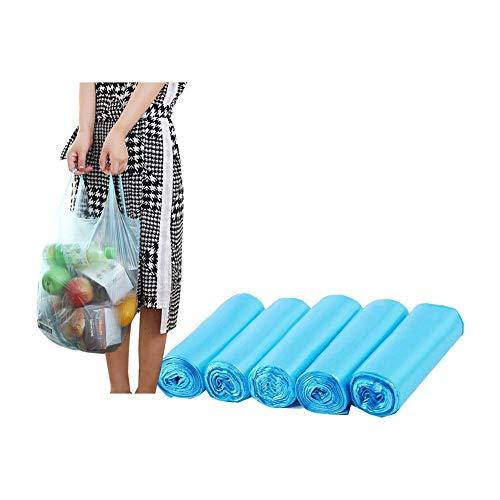 150 Sacchetti Della Spazzatura ,PE Sacchetti di Immondizia ,14 L Sacchi immondizia, Sacchi Immondizia Pantry, Blu