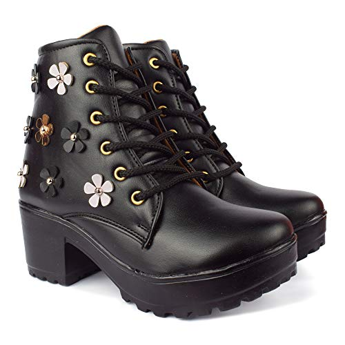 KRAFTER Trendy Boots for Women Highly Comfortable ...