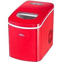 TecTake Eiswürfelmaschine -diverse Farben- (Rot)