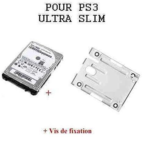 Disque dur 320Go pour PS3 slim / Ultra Slim avec support et notice en Français