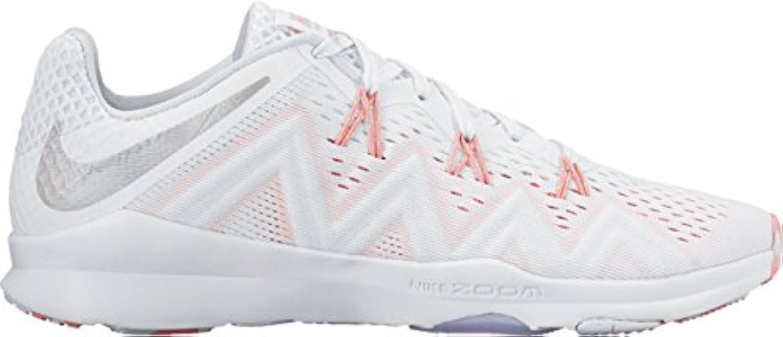 Nike W Nike Zoom Condition tr PRM – White/Silver – Felpudo Pure platino