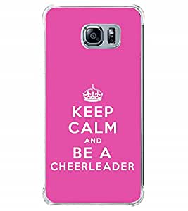 Fuson Designer Back Case Cover for Samsung Galaxy Note 7 (Keep Calm Be Quiet Be Cool CheerLeader Supporting)
