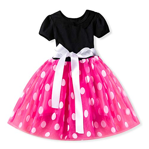Inlefen Blume Prinzessin Party Kleid Tüll Hochzeit Brautjungfer Taufe Kleid Mädchen (Kostüm Altes 3 Halloween Baby Monat)