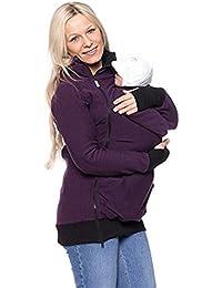 Portabebés Las mujeres embarazadas Canguro Chaqueta Abrigo de embarazo Lana polar Capucha El abrigo