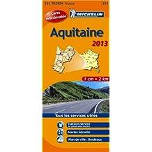 Carte REGION Aquitaine 2013 n°524