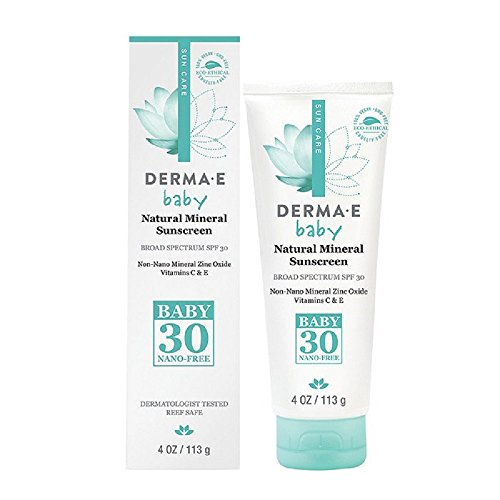 Derma E Beauty - Natural Mineral Sunscreen Baby - 4oz / 113g -