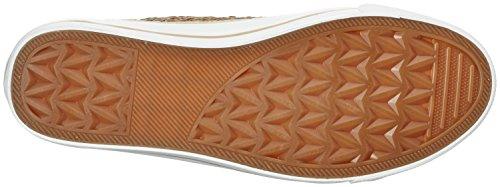 Fritzi Aus Preussen Damen Hanna Toe Cap Sneaker Sequin Hohe Elfenbein (Offwhite)
