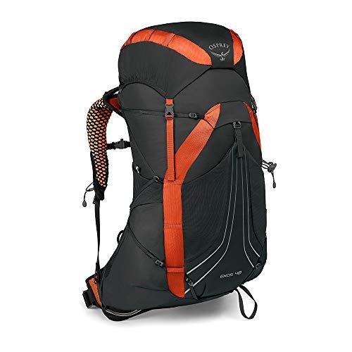 Osprey Exos 48 leichter Trekkingrucksack für Männer - Blaze Black (LG)