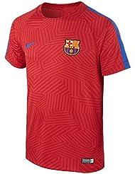 da268aead875a Nike FCB Y NK Dry Top SS SQD GX Camiseta de Manga Corta FC Barcelona