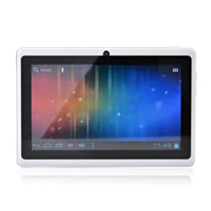 "7"" ZollTouch Screen Allwinner A13 1.0GHz CPU Android 4.0 Tablet PC 4GB HDD 512MB WiFi (Weiß)"