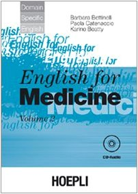English for medicine. Con CD Audio: 2
