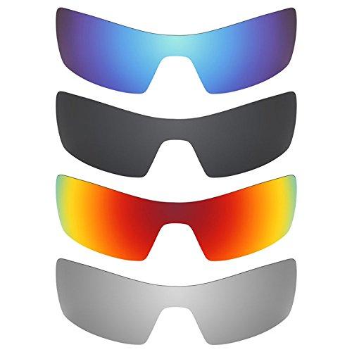 Revant Ersatzlinsen für Oakley Oil Rig Polarisiert 4 Paar Kombipack K018