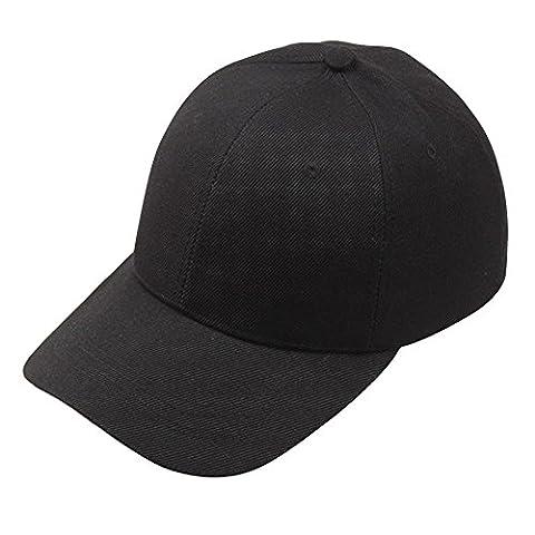 TraumzimmerUnisex Baseball Cap Snapback Hut Hip-Hop Caps Verstellbare Hüte Schwarz